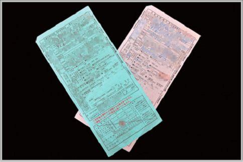 交通違反の青キップと赤キップ