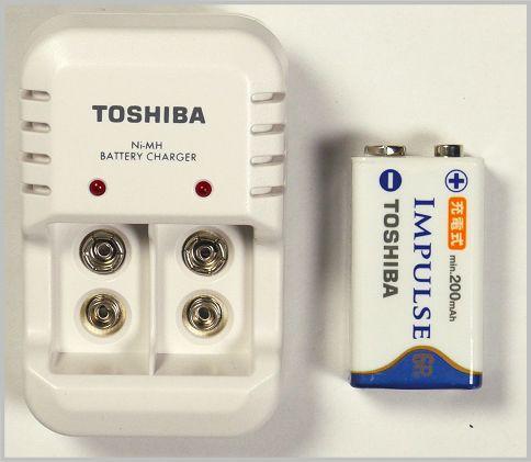 充電式の9V電池