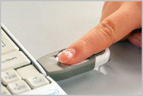 指紋認証USBメモリ