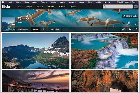 Flickrの使い方をマスター
