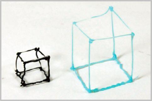 3Dペンで実際に立方体を作ってみた