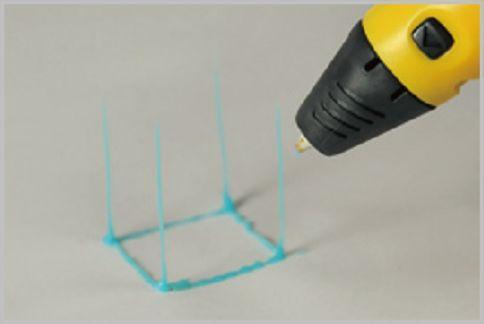 3Dペンで実際に作ってみた