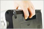 ソニーラジオの新定番ICF-M780Nの背面部