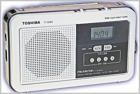 短波ラジオを手軽に聞くTY-SHR3