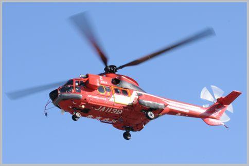 消防ヘリの無線「カンパニーラジオ」