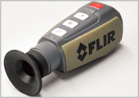 FLIRは熱エネルギー暗視スコープ