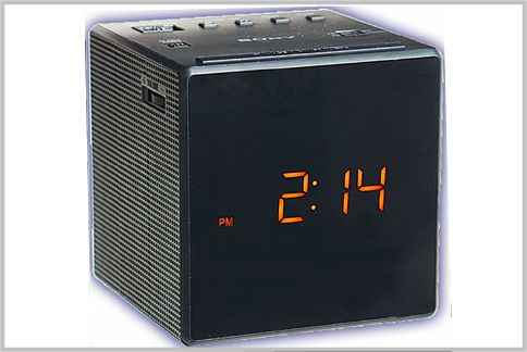 FM補完放送対応のクロックラジオ