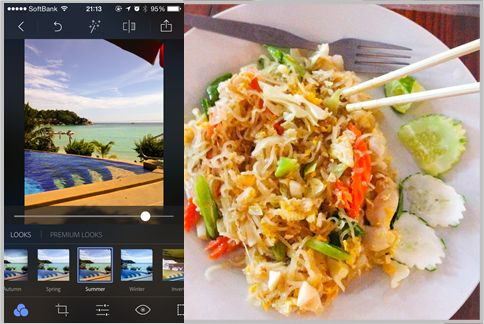 iPhoneのカメラ機能が大幅アップするアプリ