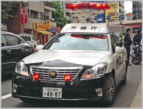 パトカーは自動車警ら隊と所轄で違う