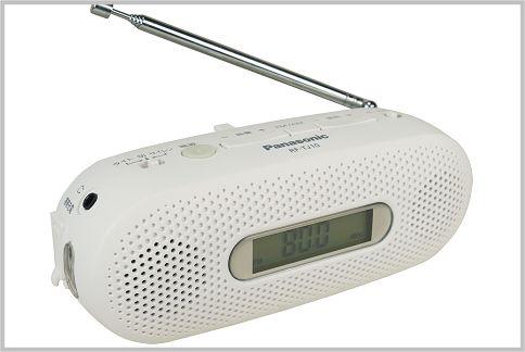 防災ラジオのおすすめは手回し充電のRF-TJ10