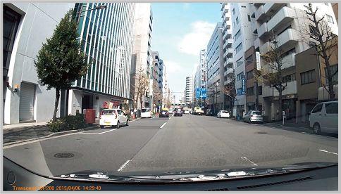 トランセンドDrivePro200のカメラ