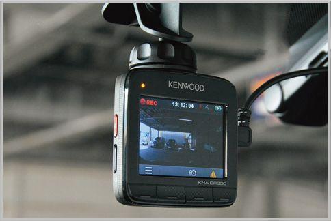 KNA-DR300は駐車モード搭載の多機能ドラレコ