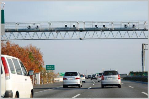 Nシステムは通行車両のナンバープレートを撮影