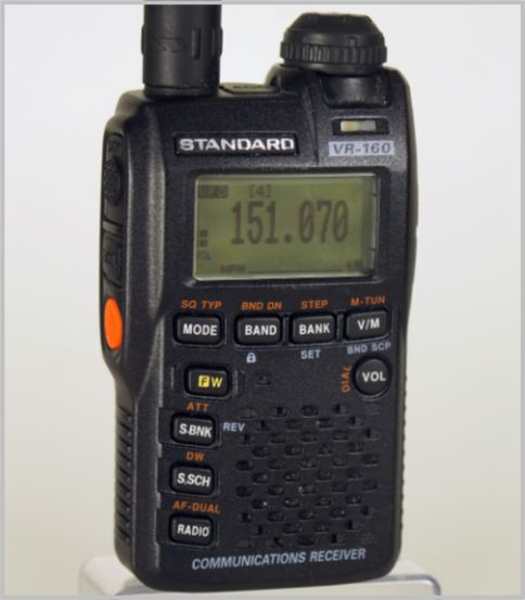 八重洲無線VR-160は超小型ボディに多彩な機能