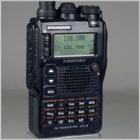 八重洲無線VX-8Dはおもしろ無線を2波同時受信