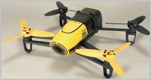 Bebop Droneは本格的な空撮が楽しめる上級機