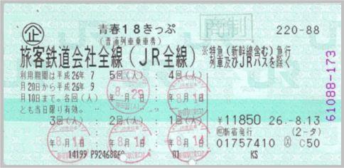 青春18きっぷで新幹線をあえて使うワープ技