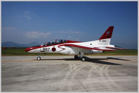 芦屋航空祭はT-4の見事な大編隊飛行が見どころ