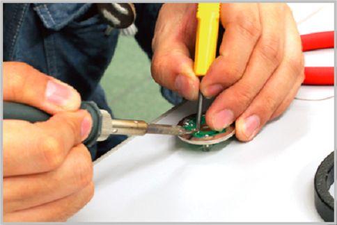 赤外線ライトを100均の懐中電灯を改造して作る