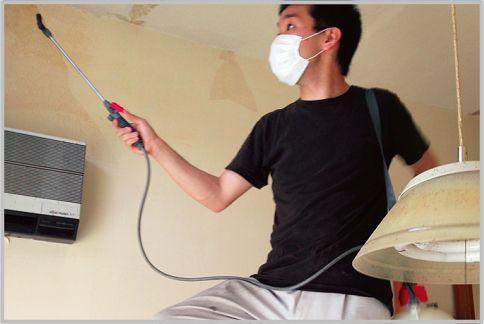 特殊清掃で頑固な腐敗臭を除去する消臭除菌剤
