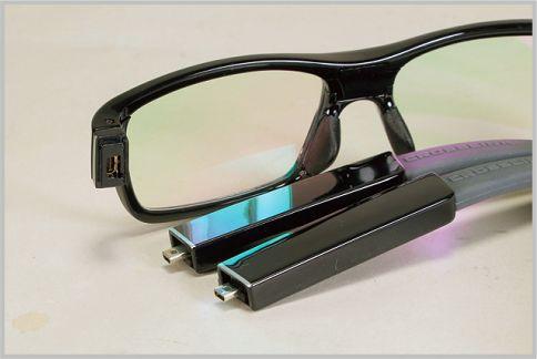 メガネ型カメラは視線と同じ感覚で撮影できる