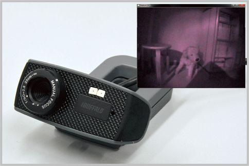 暗視カメラは格安Webカメラの改造で作れる