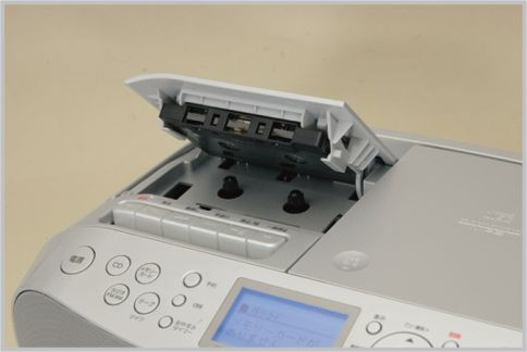 カセットテープをデジタル化する「CFD-RS500」
