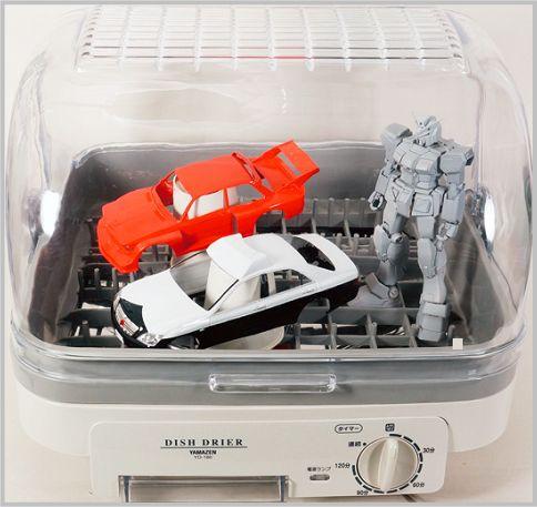 プラモデルの塗装に使われる食器乾燥機YD-180