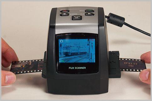 フィルムスキャナーはPCなしでJPEG化できる