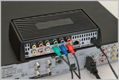 Slingboxで古めのレコーダーをHD対応ロケフリ