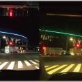 パーフェクトビューの視認性を昼間と夜間で実験