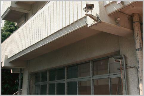 防犯カメラの設置場所は町のいたるところにある