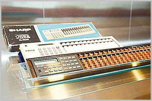 シャープの電卓はその後の液晶開発の原点