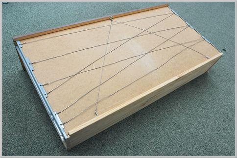 IKEAのチェストの底板たゆみを補正する方法