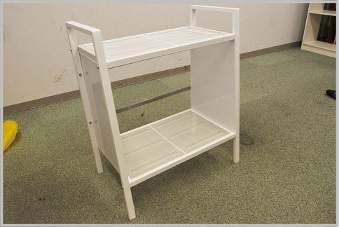 IKEAのシェルフユニットを使いやすく改造する