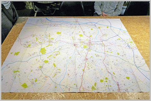 空想地図「中村市」には街の歴史や裏事情も設定