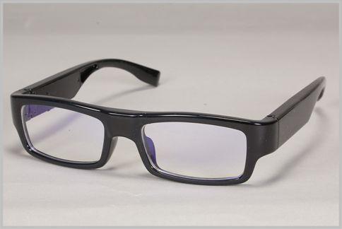 メガネ型カメラとは気づかれないフレーム処理