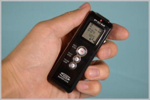 ICレコーダーは暗証番号で録音データを守る