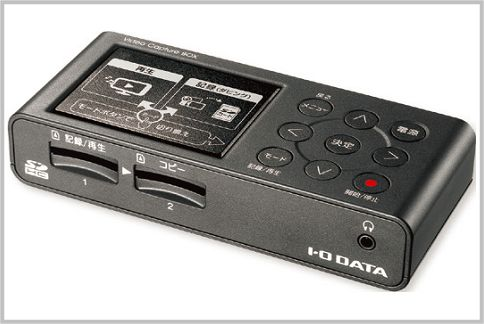 ビデオテープをPCなしでMP4ファイルにする方法