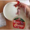 壁紙の掃除はスーパーオレンジで汚れを除去する
