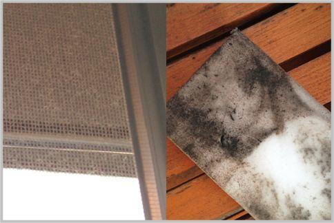 窓掃除と網戸掃除は身近にあるもので十分