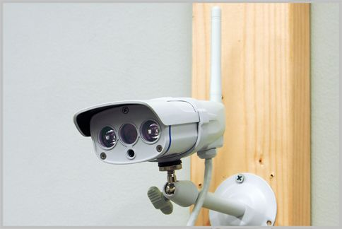 ネットワーク式の防犯カメラの映像性能を検証