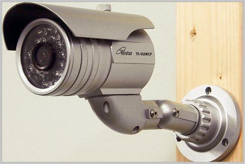暗視カメラとしての力を発揮する防犯カメラ