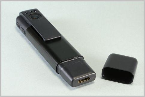 ペン型カメラをWi-Fi接続でスマホから遠隔操作