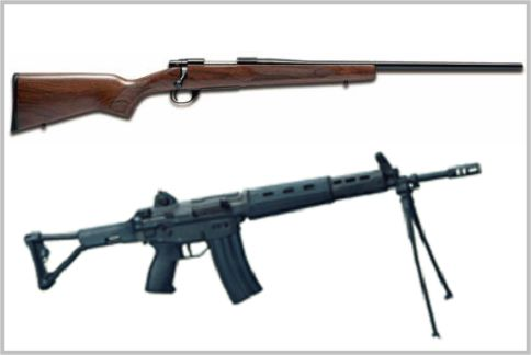 狙撃銃として特殊部隊が採用している豊和工業