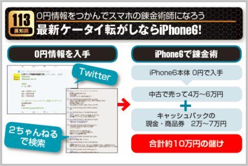 iPhoneの買取を利用すれば合計10万円の儲け