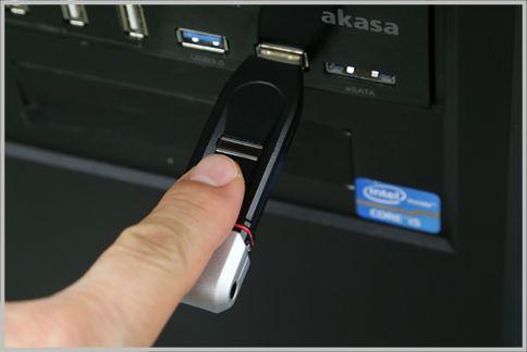 USBメモリおすすめはパスワード+指紋認証