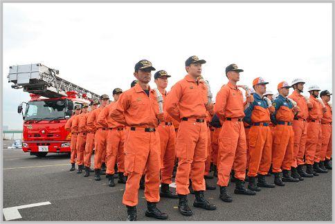 消防署が本部のように署活系を使...
