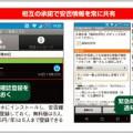 安否確認をスマホの利用状況から判断するアプリ