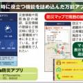 防災アプリは国土地理院のお墨付きを使うべし